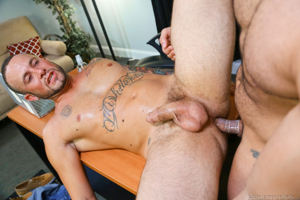 Uncut gay men having sex